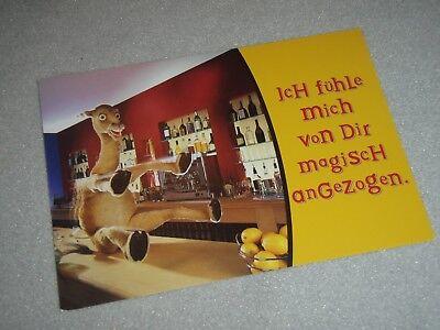 1 Camel Karte - Zigaretten Postkarte - Ich fühle mich von Dir magisch angezogen