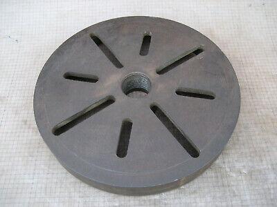 Vintage 11 Face Plate 1-34 8 Tpi Part E38 For 13 South Bend Lathe Attachment
