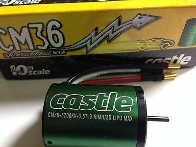Castle CM36-5700kV 1/10th Scale Brushless Motor Car Buggy SCT Track 1406