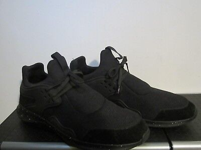 Zara Man black men's shoes size 10, soft synthetic upper