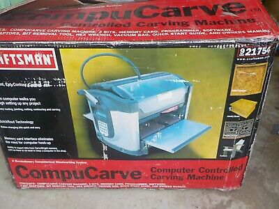 Craftsman 921754 Compucarve Wood Carving Cnc Machine Carvewright With Software