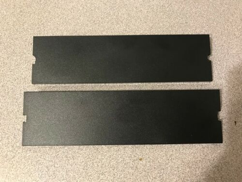 Lot of 2 Genuine HP Compaq Blank Bay Cover Carbon Bezel 166775-006 Quick Ship