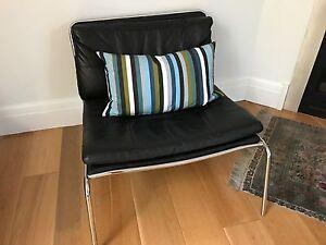 Leather armchair Mosman Mosman Area Preview