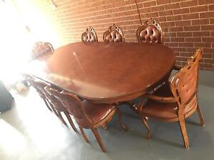 Antique Dining Sets, Tv Units, Beds And more Quality Items! Lalor Whittlesea Area Preview