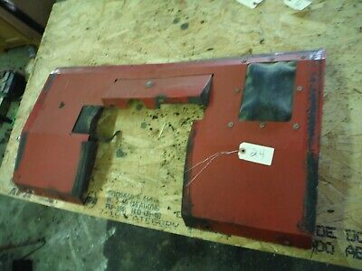 Ih Farmall 966 1066 1466 Tractor Factory Cab Rear Filler Plate 24