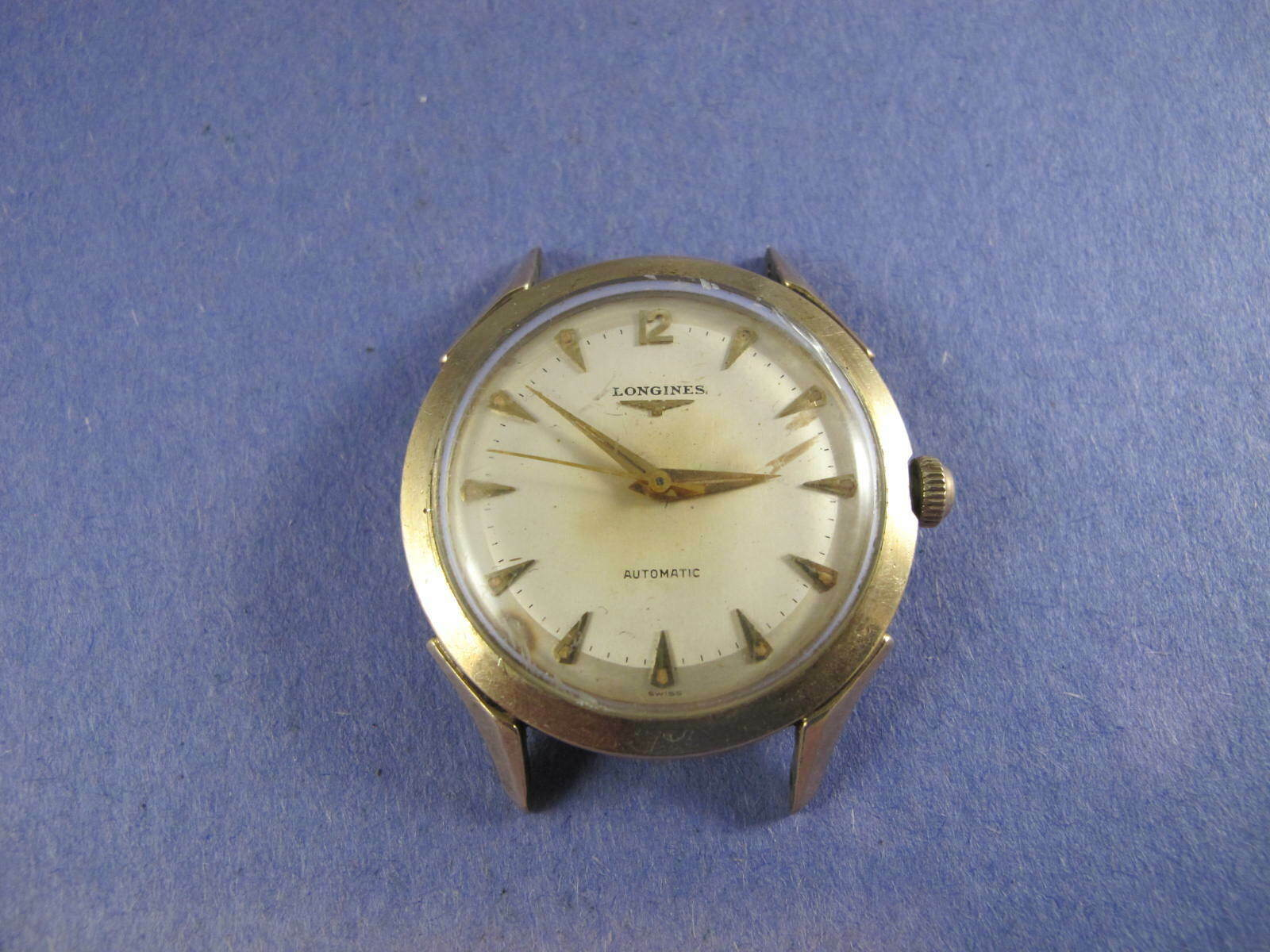 LONGINES MENS VINTAGE GOLD FILLED 19AS AUTOMATIC  WATCH