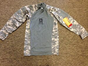 USGI-ACU-Massif-Digital-Camo-Army-Combat-Shirt-Flame-Resistant-ACS-Med