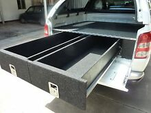 DUAL CAB UTE DRAWER SYSTEMS - CUSTOM MADE TO ORDER Wingfield Port Adelaide Area Preview