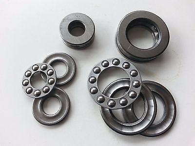 10pcs 51104 Axial Ball Thrust Bearing 3-parts 20mm X 35mm X 10mm