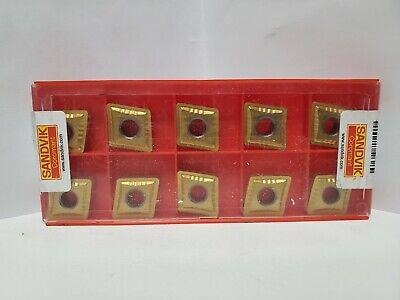 Sandvik Cnmp 16 06 12 1025 Carbide Insert For Turning Lot Of 10