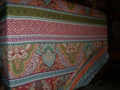 Retro 1970's Table Cloth/Bed Cover BetterHomes&Gardens 70's Design&Color 70