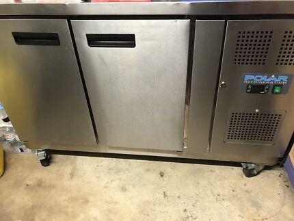 Polar 2 Door Counter Fridge - 282Ltr & 3 Door Counter Fridge 417Ltr Stainless Steel   Fridges u0026 Freezers ...