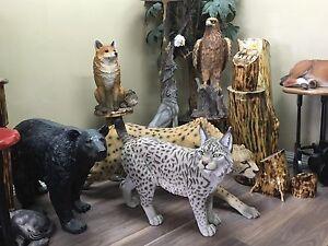 Wildlife animal statues home garden sculpture