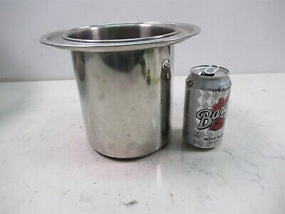 Polar Stainless Steel 18-8 3y 10-63 Bain Marie Pot 7 Deep 8 12 Dia Food Grade
