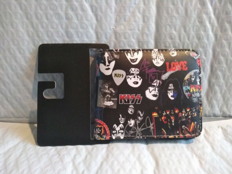 Kiss Band (Rock & Roll) Wallet Vibrant Colors New with Tags