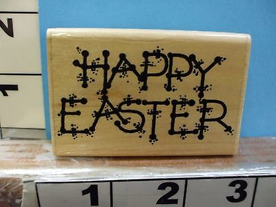 happy easter saying rubber stamp (Happy Easter Sayings)