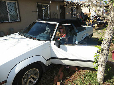 Toyota : Celica GTS 1985 Toyota Celica Convertible GTS Manual Transmission