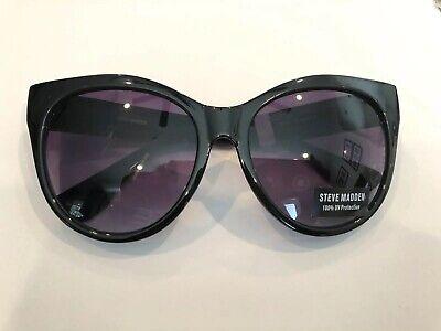 51mm Cat Eye Sunglasses STEVE MADDEN Black (Madden Sunglasses)