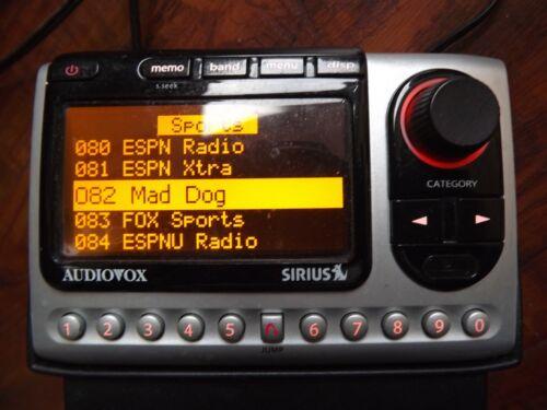 SIRIUS Audiovox SIR-PNP3 XM  radio  w/Car kit ACTIVE LIFETIME SUBSCRIPTION