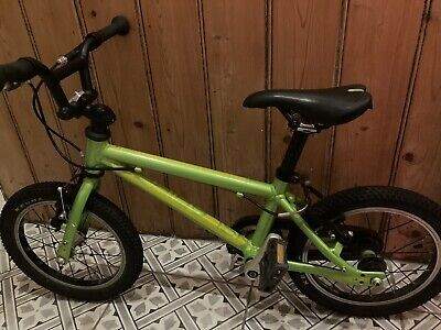 Islabike Cnoc 14 large. Excellent used condition. Bright green. Child's bike.