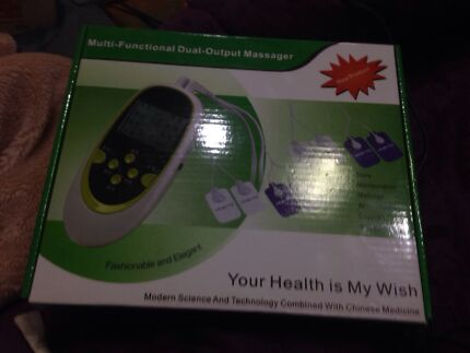 Multi-functional dual-output massager Quakers Hill Blacktown Area Preview