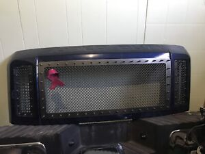 08-10 superduty grille and insert