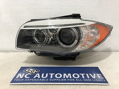 2011 2012 2013 BMW 1 Series 135i 128i Headlight Driver Left LH Xenon HID OEM A86