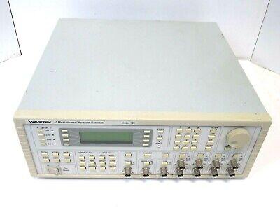Wavetek 195 40mhz Universal Waveform Generator With Option 001