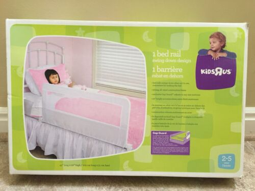 "Babies R Us Swing Down Design Bed Rail White 42"" long X  20"""