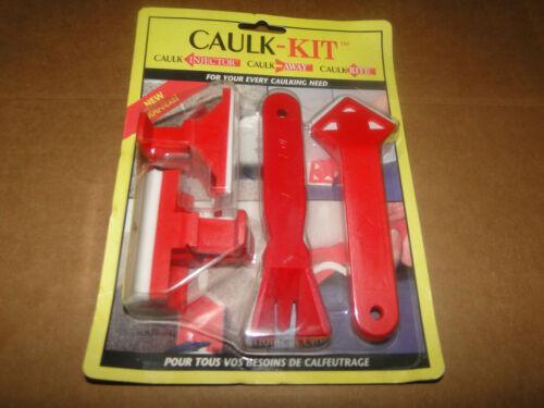 NEW! Caulk-Kit 4 red piece tool for Caulk Injector/Away/Rite