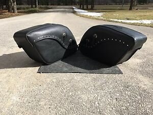 Honda Shadow 750 Saddle Bags