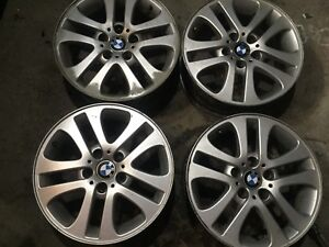 "BMW original 17"" Aluminum mags 140$ all 4 MUST SELL"