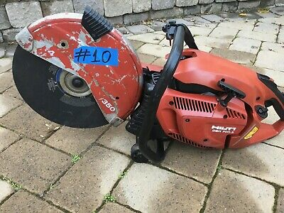 Hilti Dsh 700-x Gas Saw For Parts Only Not Working 10 Fast Ship