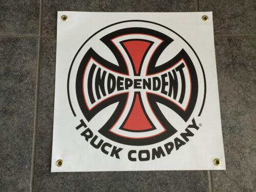 Independent Trucks banner sign skate deck garage bedroom wall ramp pool grind