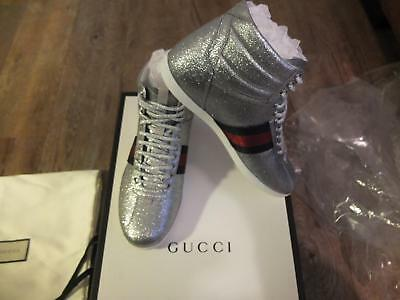 Gucci Bambi Glitter Sneaker High Top Schuhe shoes Sneakers Trainers chaussures