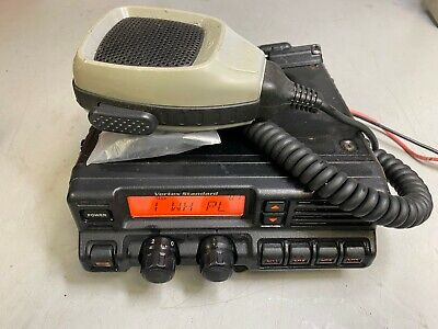 Vertex Vx-4000l Low Band 37-50 Mhz 70w 250 Channel Mobile Bench Tested Wacc.