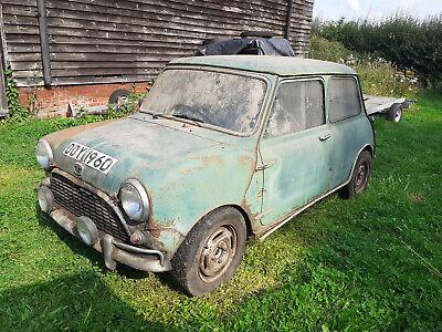 Barn Find Cooper-ised 1966 Austin Mini unused 25 years 1 owner 30 years restore