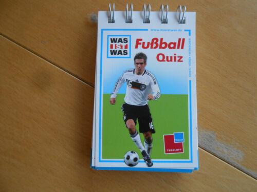 """Quiz """"Fußball ,""""   Ringbuch     neuwertig  Was ist Was"""