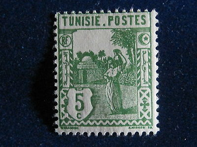 Tunisia, 5r,  1931 Early Issue, MH.