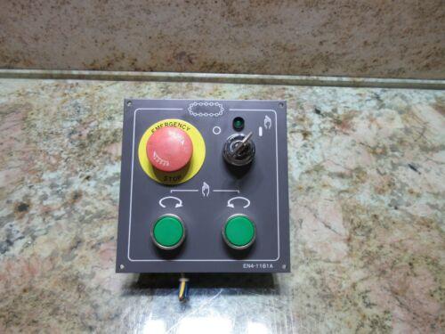 MATSUURA RA-3F CNC VERTICAL MILL OOPERATOR CONTROL PANEL CONTROLLER EN4-1161A