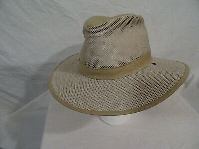 Henschel Hat Co. H1H Mesh Safari Hat tan  Adult large