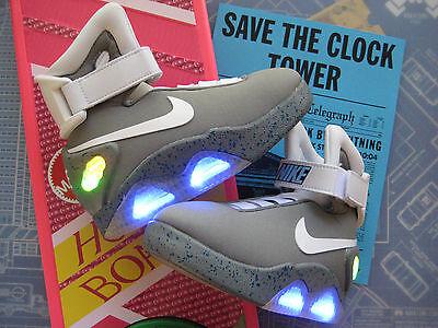 Back to the Future - KIDS Light Up Mag Upgrade Swoosh & Letters (Sizes 11 to 4), usado comprar usado  Enviando para Brazil