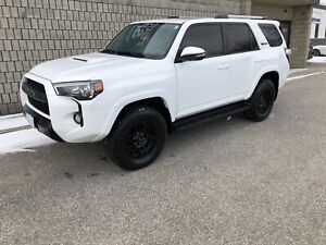 2017 Toyota TRD PRO 4runner Lease take over 41,000km