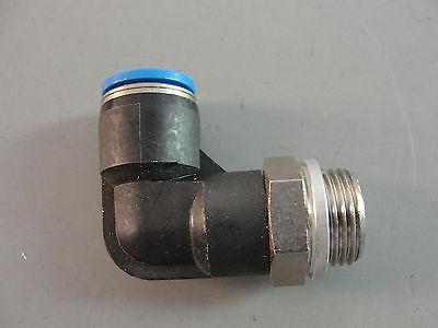 Festo Hydraulic Pneumatic Automation Push In L Fitting 10mm Tube 58 Thread