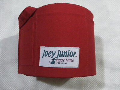 Joey Junior Original Purse Mate Red Organizer Insert - A rare hard to find item ()