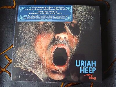 Slip Double: Uriah Heep : .. Very 'Eavy ... Very 'Umble : 2CDs Remastered