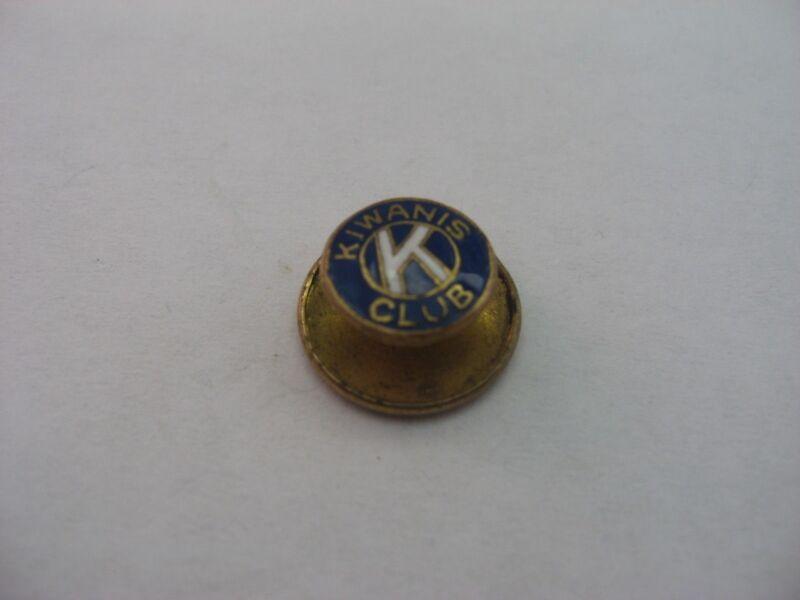 Antique Vintage KIWANIS CLUB K Pin Button Award