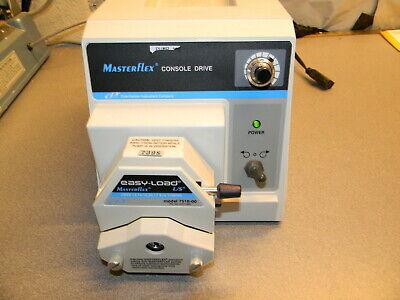 Cole Parmer Masterflex Ls Peristaltic Pump 77521-50 1-100 Rpm 0.1 Hp 7518-00