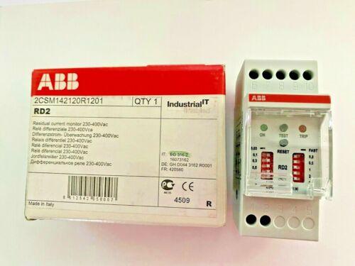 Abb Eg 316 2 RD2 2CSM142120R1201 Residual Current Monitor 230-400 Vac