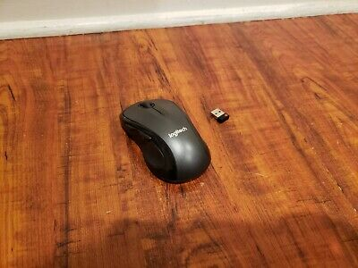 Logitech Marathon M510 Wireless Desktop Laser Mouse Unifying Receiver Black
